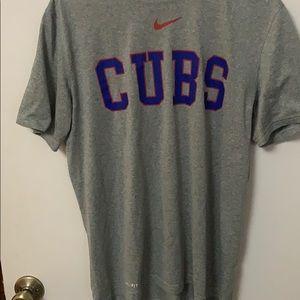 Chicago Cubs Nike Dri fit Medium.